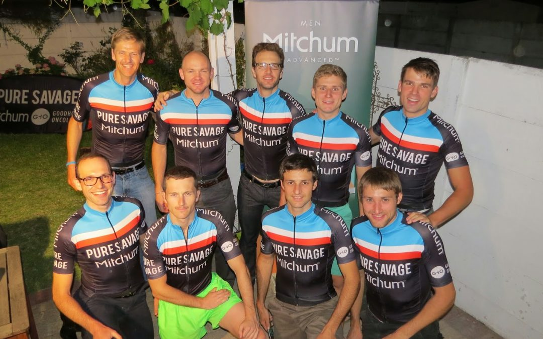Mitchum Team Pure Savage Double Century kit launch