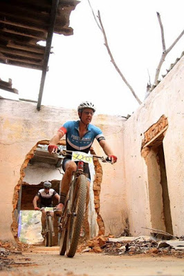 Slanghoek XCO day of pain and anaerobic riding